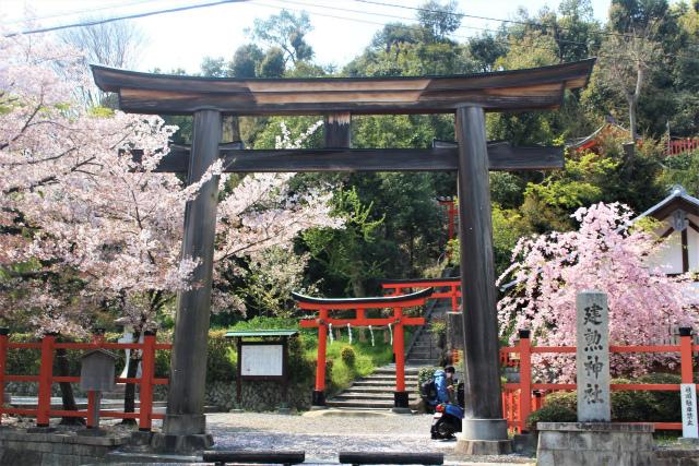 建勲神社の鳥居