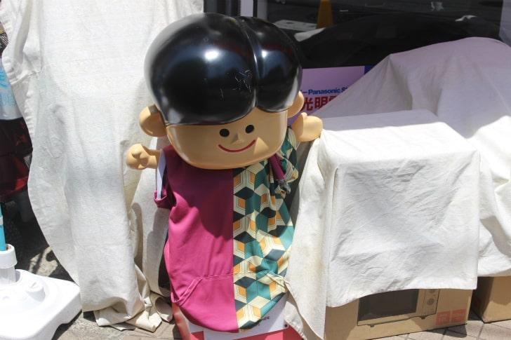 冨岡義勇の羽織を着るナショナル坊や