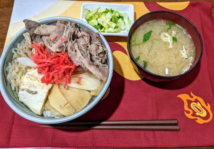 きさらぎ亭のすき焼き丼(桜新町)